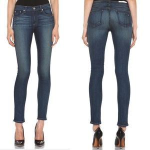 Rag & Bone The Skinny Jean in Preston Wash Sz 27
